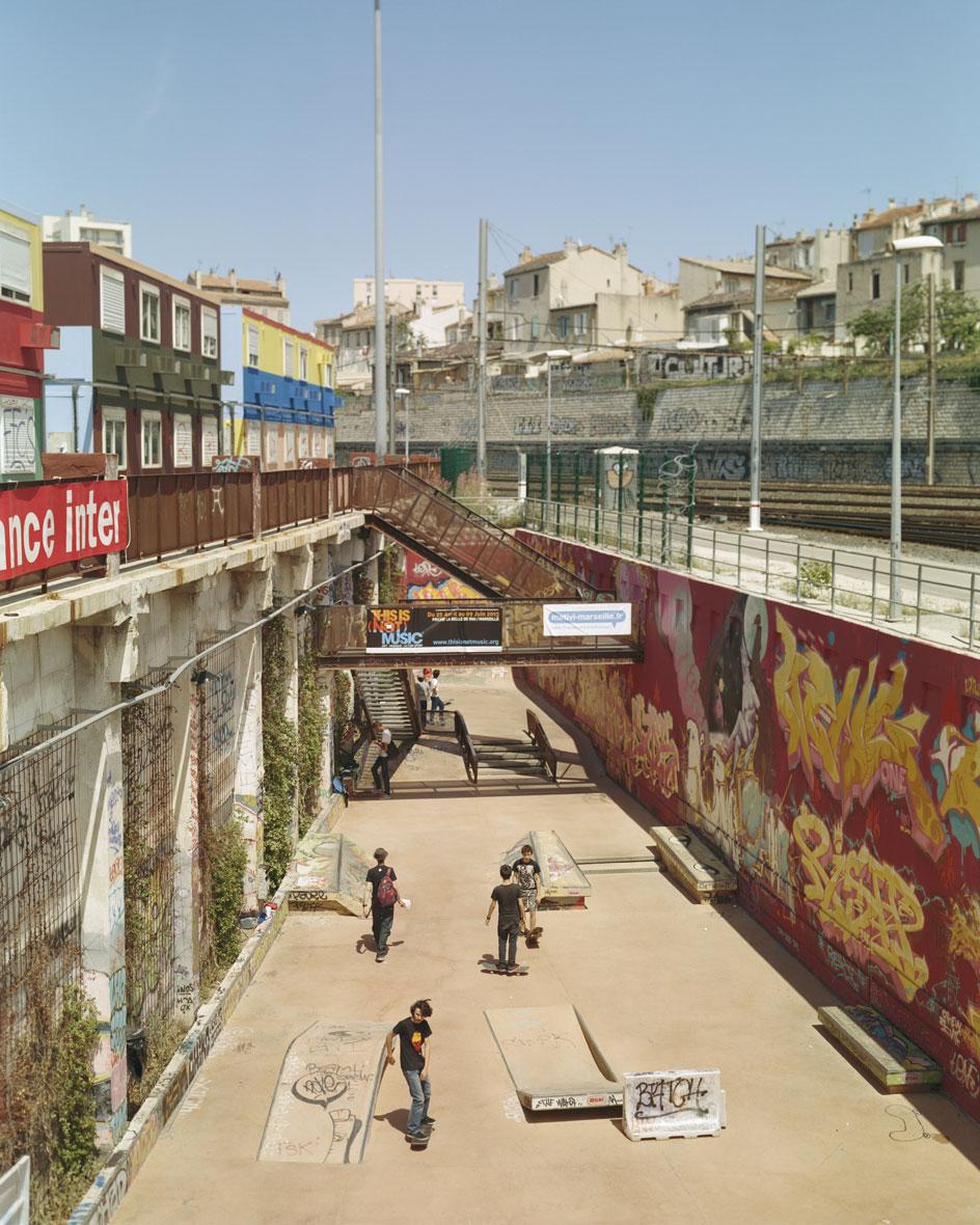 Regard d'artistes sur Marseille-Provence 2013 . Résidence Bouches-du_Rhone Tourisme