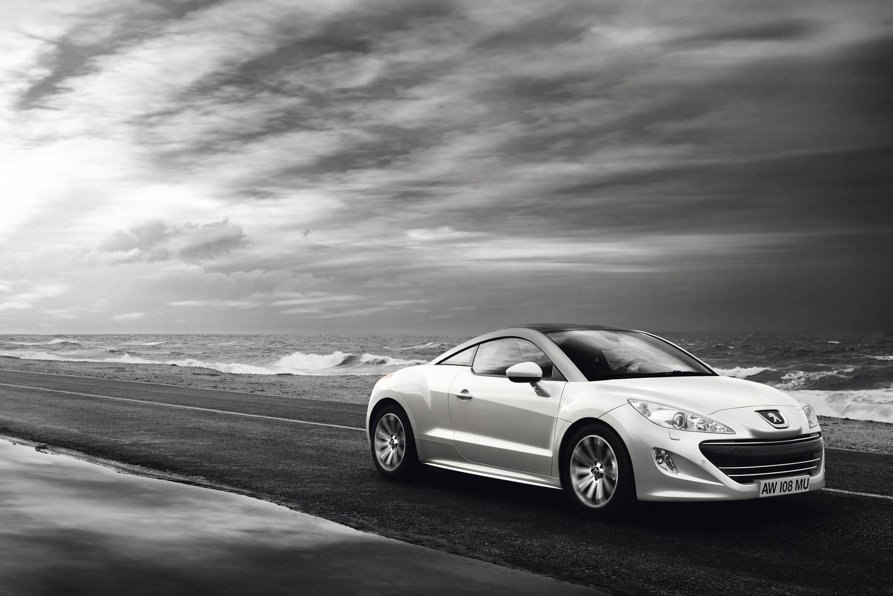 Peugeot RCZ Agency : BD Network / London AD : Lynton Peddie Production : CONTINENTAL Production . Retouche : Alexandre Le Fur.