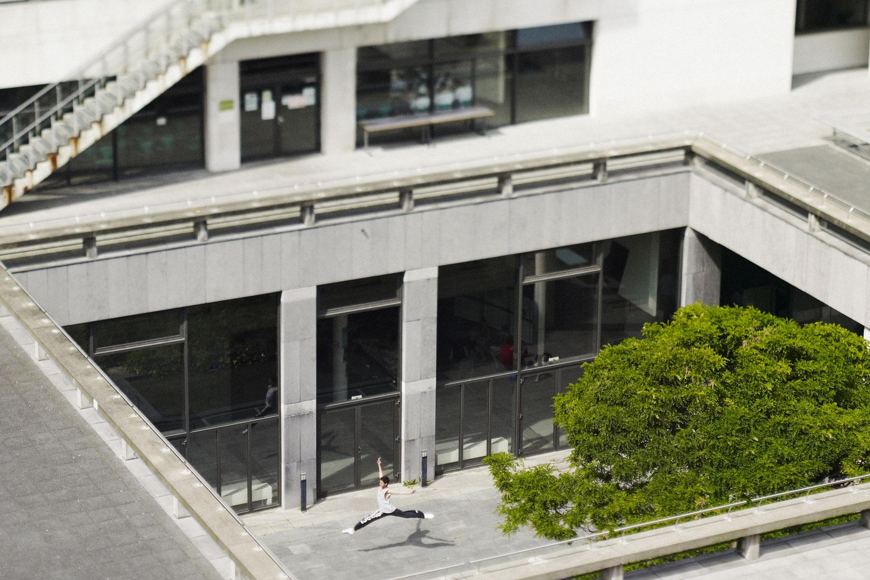 Résidence au Conservatoire de Musique et de Danse de Paris. Studio Be-Pôles.