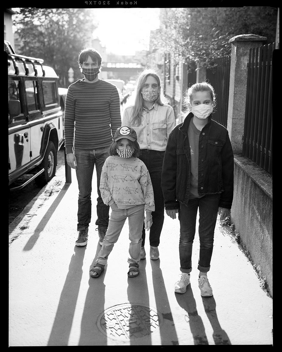 Rosa, Vincent, Béla & Elisa