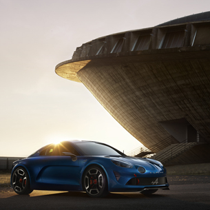 New Renault Alpine      AD mag